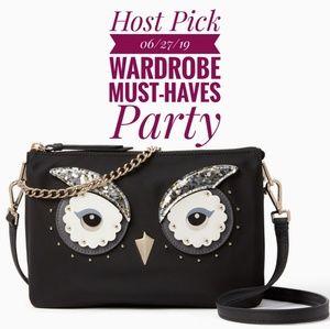 🎉HP Kate Spade Star Bright Owl Madelyne Crossbody